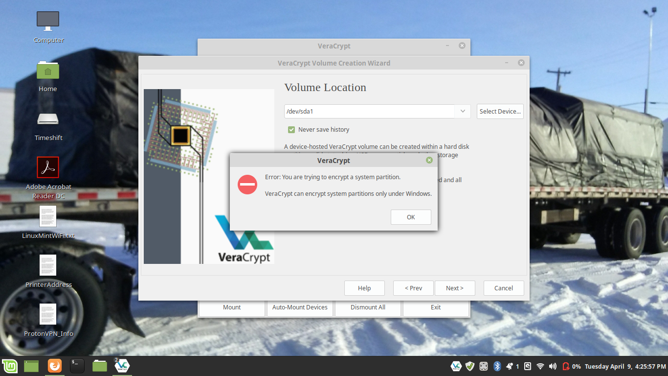 VeraCrypt / Forums / General Discussion:Using Veracrypt Full Disk