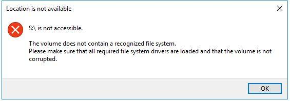 VeraCrypt / Forums / Technical Topics:Cant access files