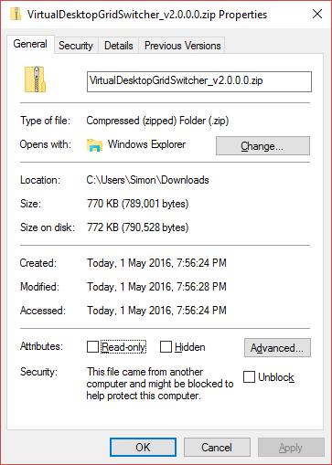 Run 4 Unblocked Games: Virtual Desktop Grid Switcher / Wiki / Installation