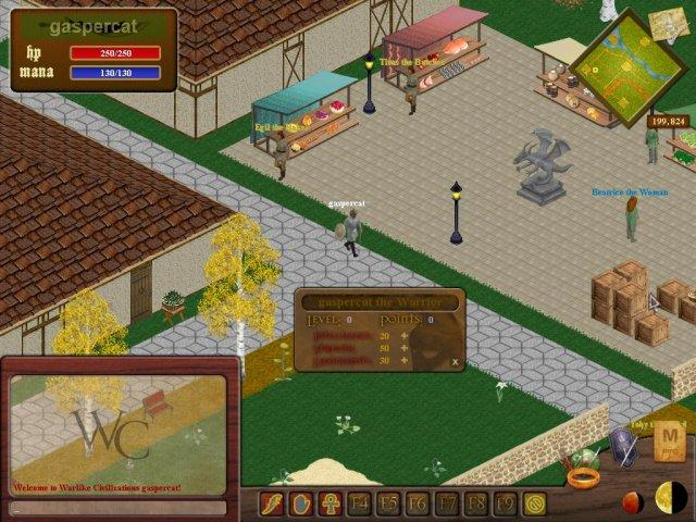 Warlike Civilizations - New Open Source MMORPG — MMORPG com Forums