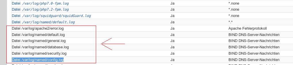 Webmin / Discussion / Webmin:Edit log files