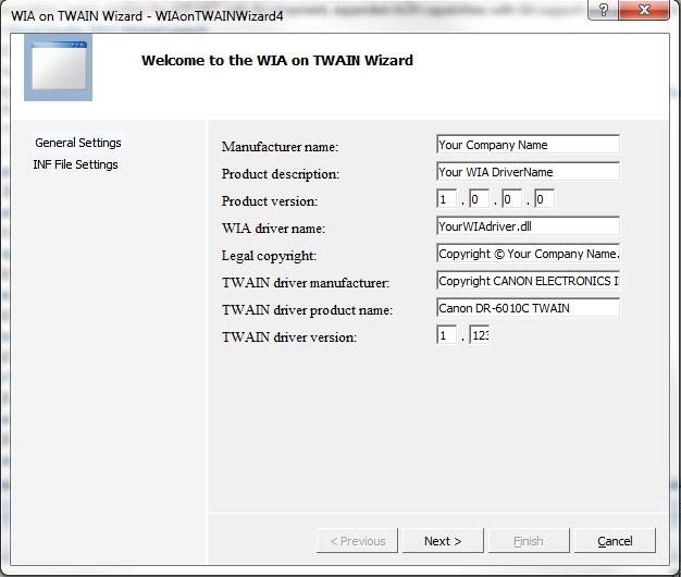 WIA On TWAIN / Bugs / #4 Canon 6010C