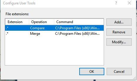 WinMerge / Bugs / #2195 Windows 10: RightClick Compare does not work