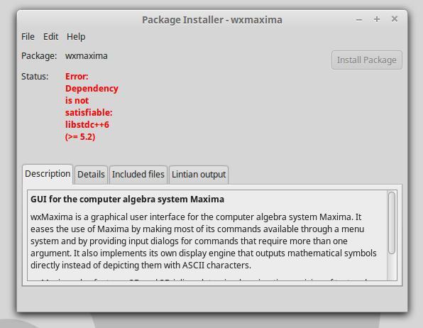 Wxmaxima ubuntu ppa