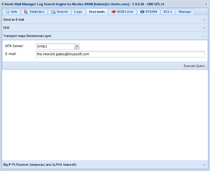 X-Itools: Email/Web Log Search Engine / Wiki / 0918ELSE