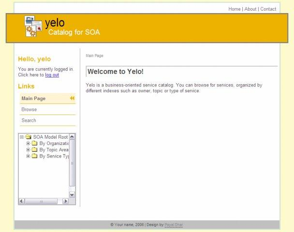 Yelo - Yellow pages for SOA / Wiki / Home