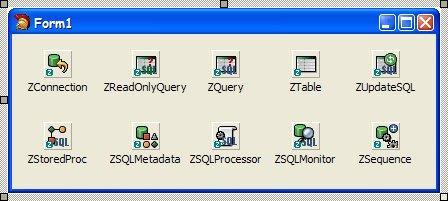 Componentes ZEOS