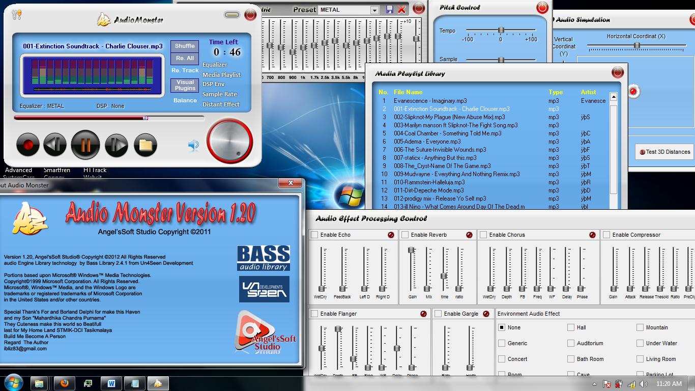 Audio Monster Player 1.2.0 Beta full