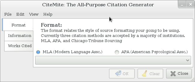 work cited in mla format generator A free online tool that automates the building of a bibliography using the harvard referencing format.