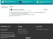 Page d'accueil avec annonces personalisables