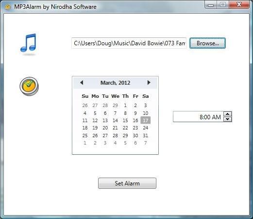 MP3 Alarm