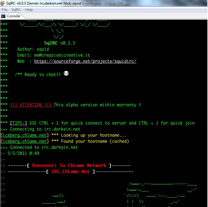 Web+Irc+Client